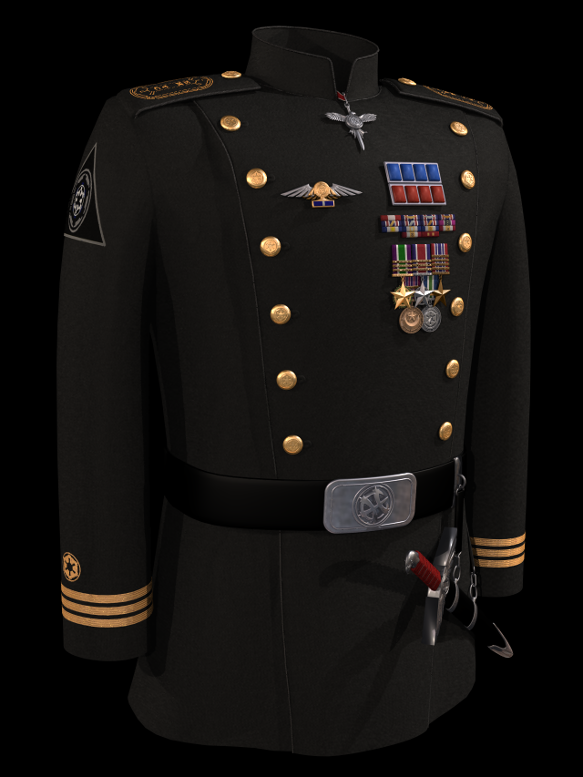 GN Gilad Pelleaon's Uniform