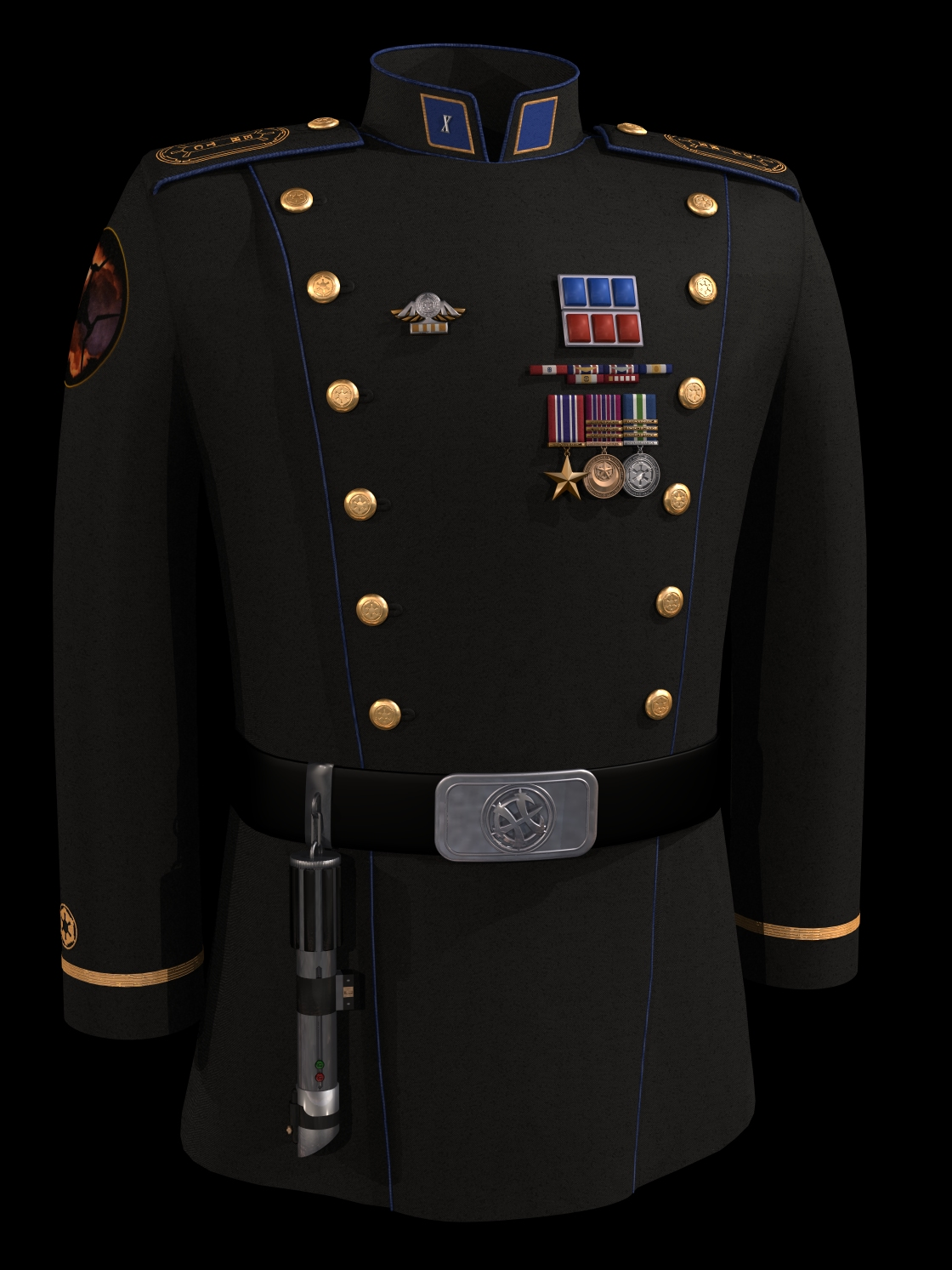 CPT APanasyuk's Uniform