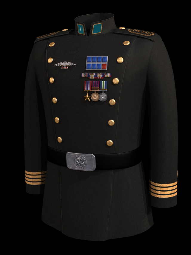 MAJ RichyV's Uniform
