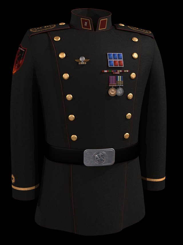COL Hawkins's Uniform
